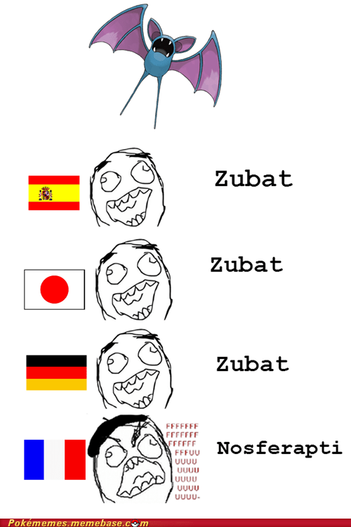 zubat,meme,languages