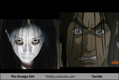 totally looks like the grudge tarrlok korra - 6650898688