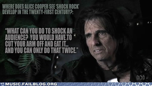 alice cooper,shock rock