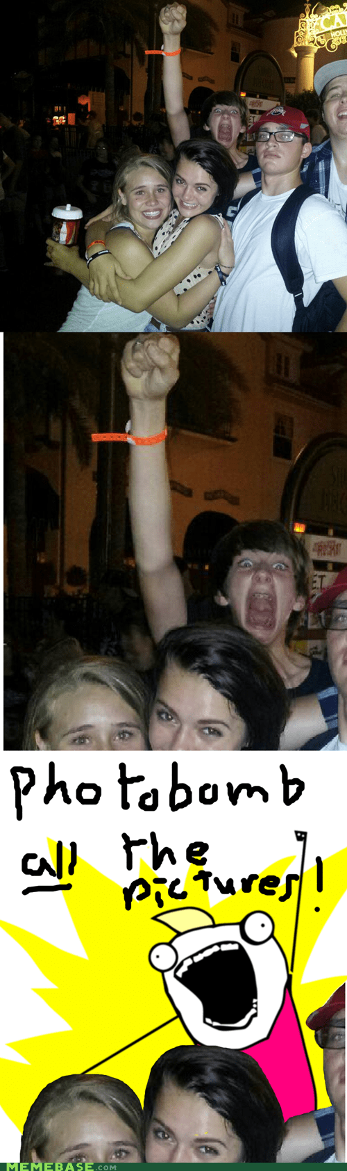 all the things photobomb scary meme - 6651820288