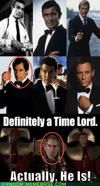 Time lord,doctor who,james bond,007