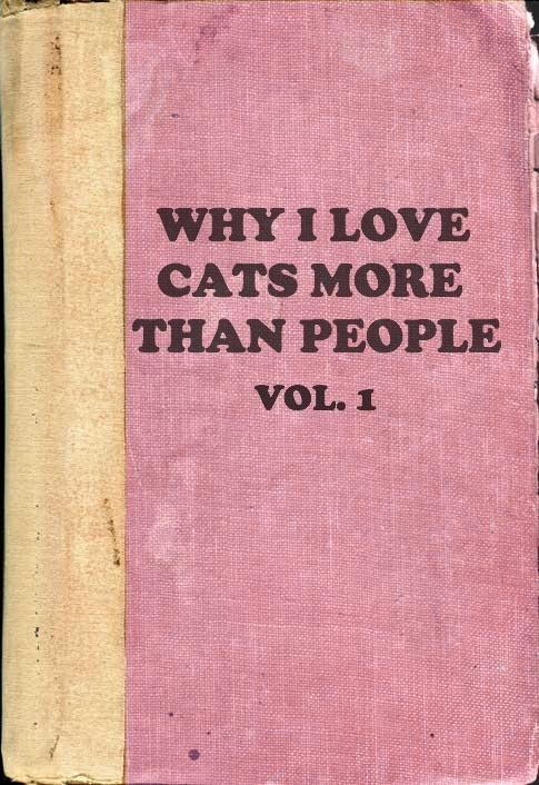 book,cat people,forever alone