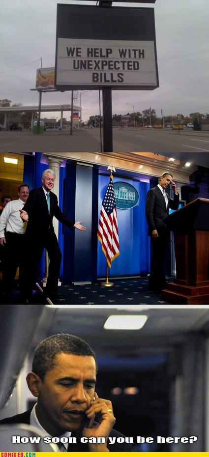 who-ya-gonna-call,bill clinton,barack obama,politics,categoryimage