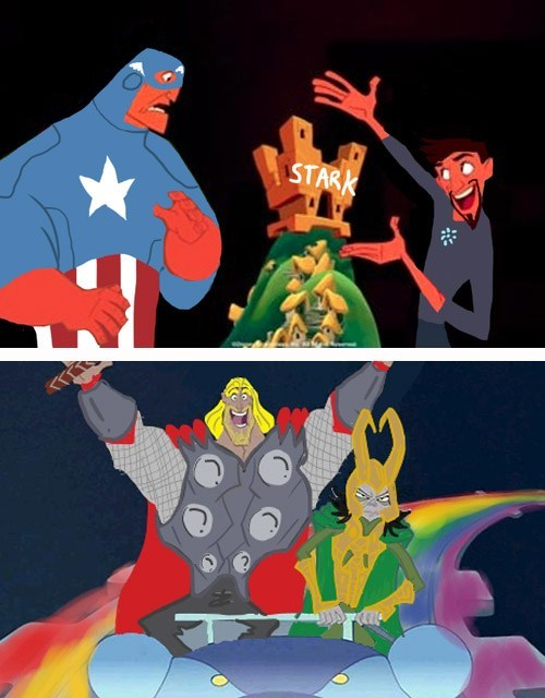 funny Movie disney the-emperors-new-groove The Avengers Thor loki categoryimage categoryvoting-page - 6652654592