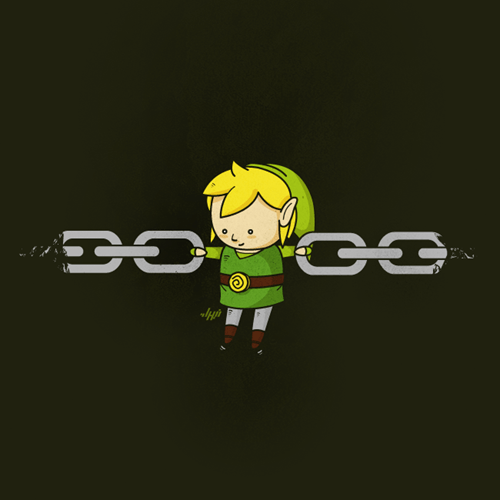 chain link chain link the legend of zelda literalism double meaning categoryimage - 6652707328