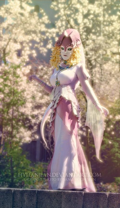 cosplay zelda twilight princess queen rutela - 6652785152