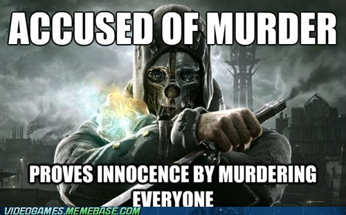 dishonored video game logic murder stealth - 6652845056