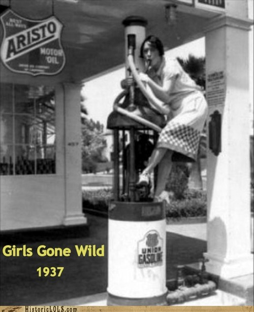 gas pump,naughty,girls gone wild,gas station,girl
