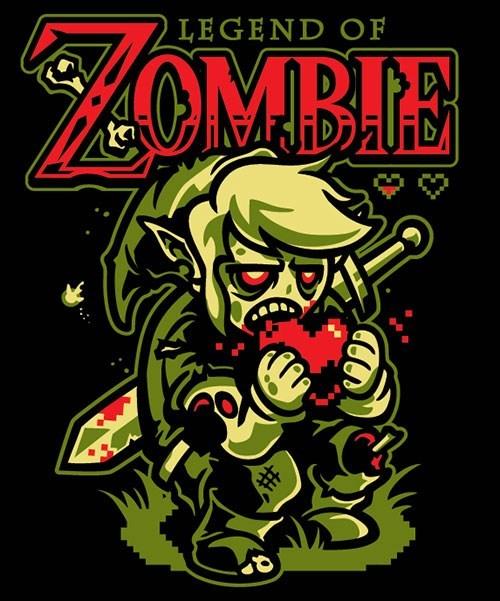 zelda,zombie,hearts