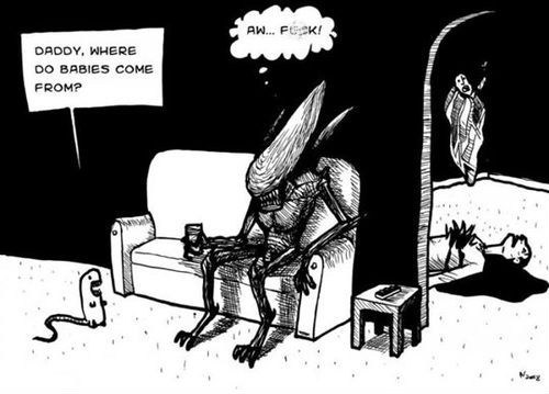 alien,comic,where-do-babies-come-from