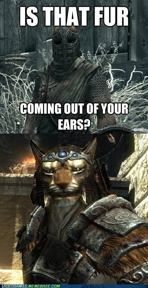no,khajiit,fur,Skyrim