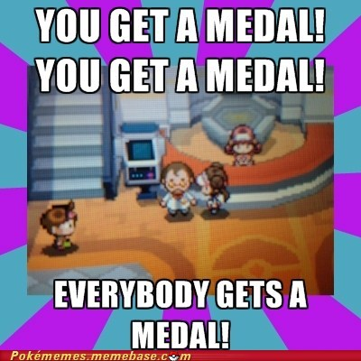 black and white 2 medals pokemon center - 6653105152