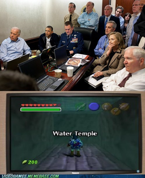 obama water temple zelda