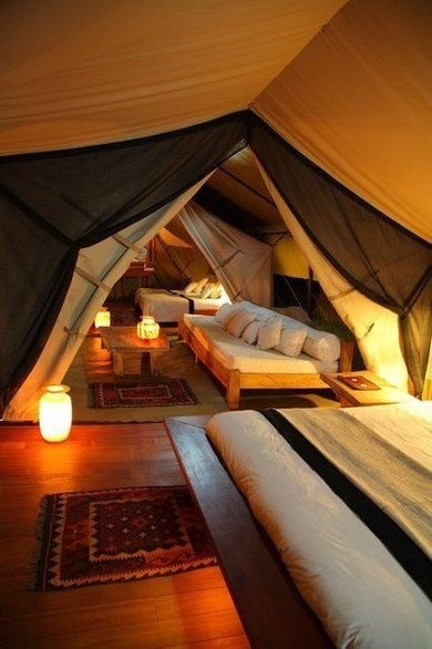 camping hotel room design tent - 6653253120
