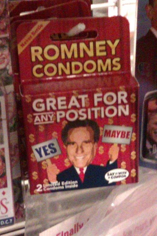 zing,Romney,condoms,contraception