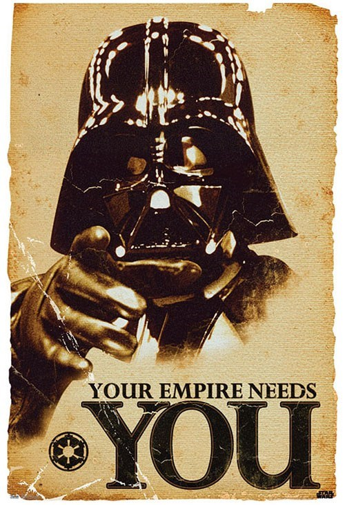 star wars darth vader Uncle Sam i want you propaganda recruitment categoryimage categoryvoting-page - 6653316864