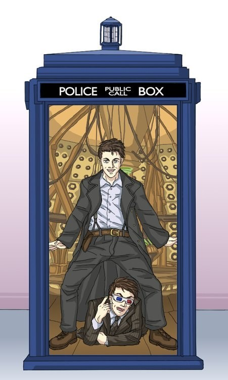 doctor who Captain Jack Harkness David Tennant gangnam style tardis dancing the doctor 3d glasses categoryimage categoryvoting-page - 6653345280
