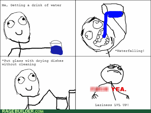 dishes water f yeah - 6653705472