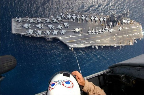 heights vertigo military aircraft carrier - 6653730048