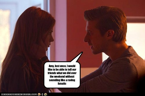 rory williams friends doctor who weekend amy pond arthur darvill normal - 6653924096