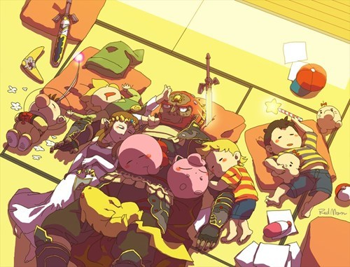 Fan Art video games super smash bros nintendo - 6654297600