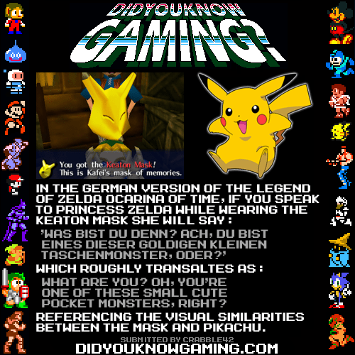pikachu,majoras-mash,video games,keaton mask,categoryvoting-page