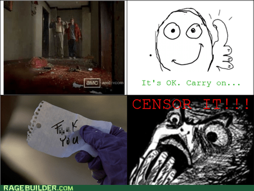 breaking bad,raisin horror,censored