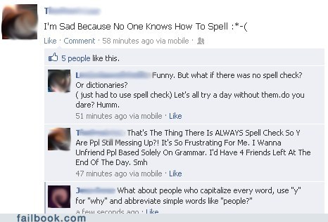 dictionary,spelling,grammar,grammar nazi,capitalization,punctuation