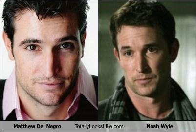 funny TLL actor celeb matthew del negro Noah Wyle - 6655373312
