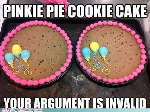 pinkie pie cookie cake food argument is invalid - 6655831808