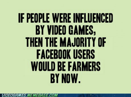 video games facebook Farmville violence