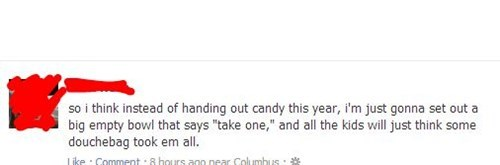 facebook,halloween,candy,Parenting Fail