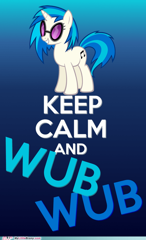 keep calm meme drop the bass wub wub dj PON-3 - 6656583936