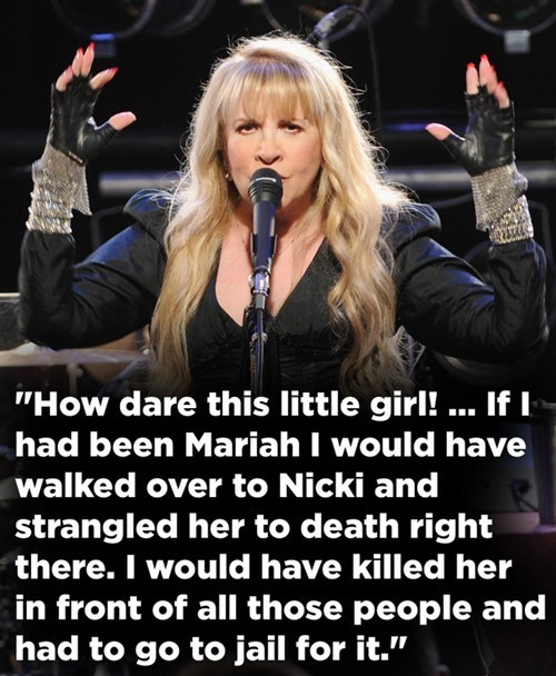 stevie nicks,nicki minaj,American Idol,mariah carey