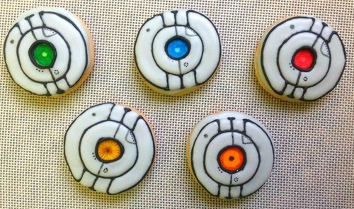 Portal,portal 2,personality cores,cookies,space,adventure