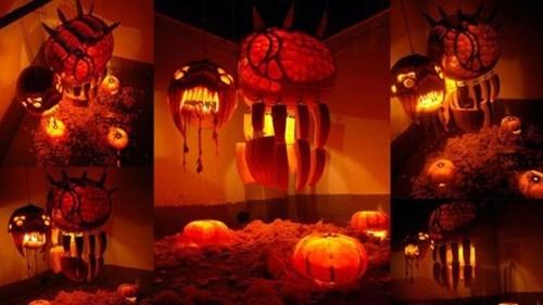 nerdgasm,pumpkins,halloween,starcraft
