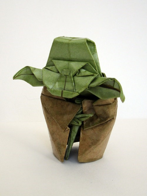 nerdgasm,origami,yoda,star wars,best of week,Hall of Fame