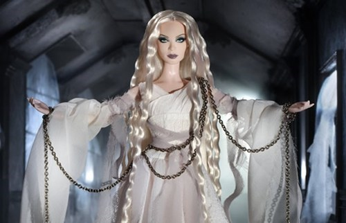 Barbie ghost spooky halloween limited edition