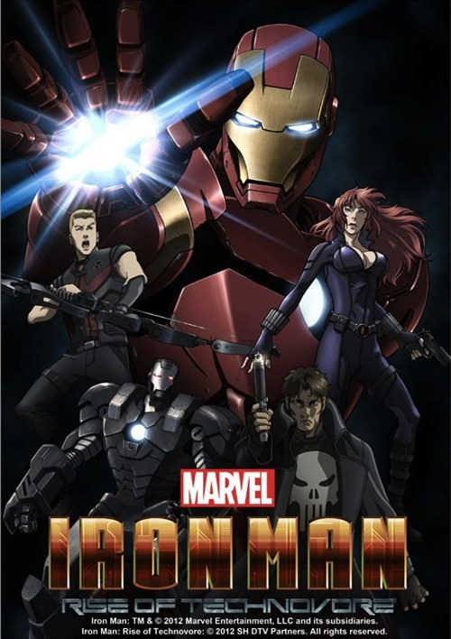 marvel anime iron man studio madhouse rise of technovore - 6656884480
