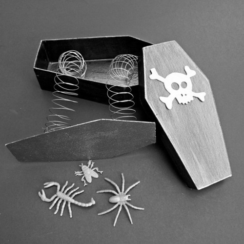 DIY instructions toy coffin trick halloween - 6656991232