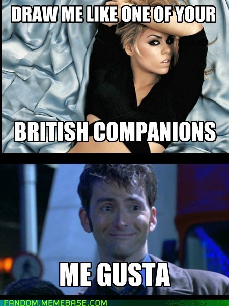 doctor who billie piper 10th doctor Memes - 6657097472