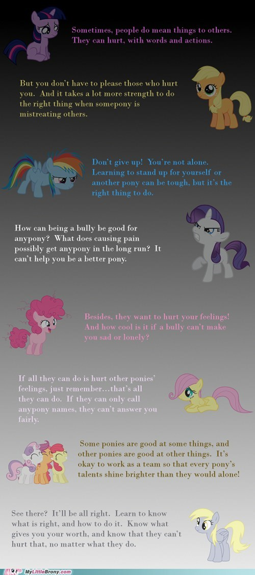 Pony encouragement