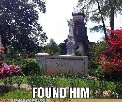 wheres waldo,IRL,dead,trolling