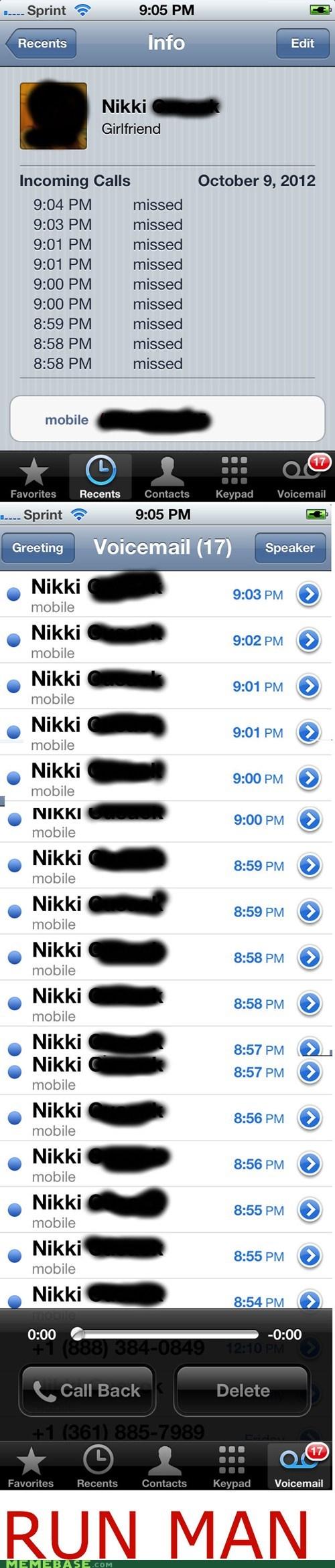 run phone what girlfriend nikki texting dating g rated AutocoWrecks - 6657379584