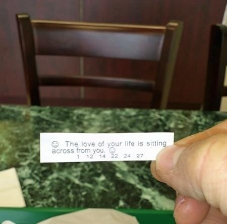 engrish funny fortune cookie forever alone true love - 6657393152