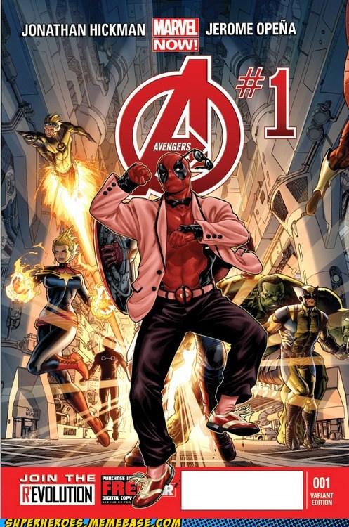 gangnam style deadpool cover avengers Random Heroics - 6657833984