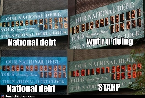what r u doin national debt climbing stahp debt clock big - 6657909504