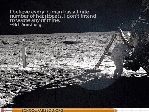 Words Of Wisdom neil armstrong moon landing space