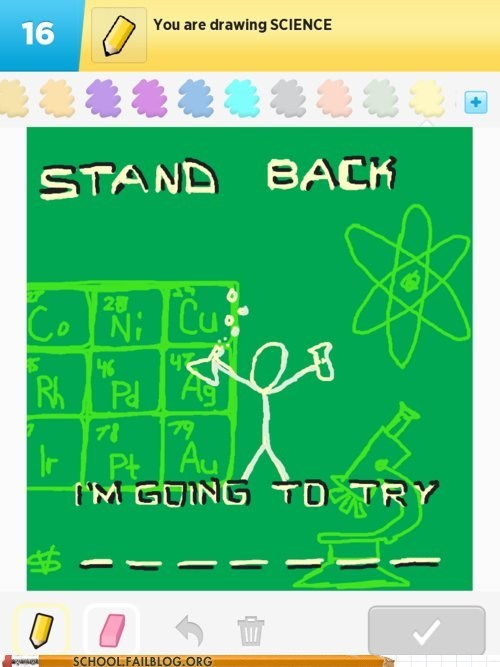 xkcd win,stand back,science,draw something