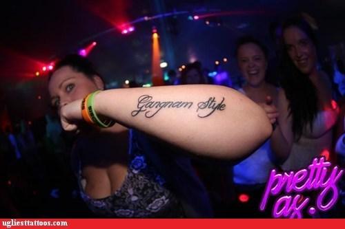 gangnam style arm tattoos - 6658637824
